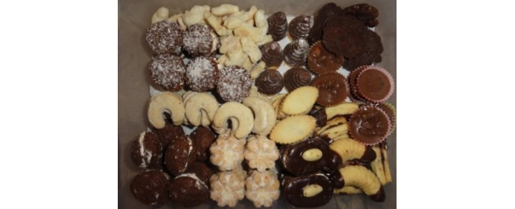 Vánoční cukroví Praha