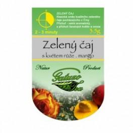 Čaj Gatuzo Zelený čaj s růží, mango