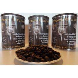 Vilémova káva zrnková 0,25Kg, plechová dóza