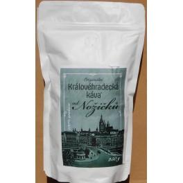 Královéhradecká káva od Nožičků, zrnková 0,25Kg