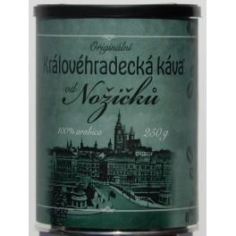 Královéhradecká káva od Nožičků, zrnková 0,25Kg - PLECH