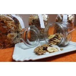 Zapékané müsli se sušeným ovocem a ořechy - balené