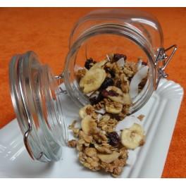 Zapékané müsli se sušeným ovocem a ořechy - vážené